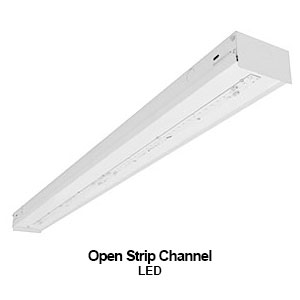 The STR220 is an LED open strip channel commercial lighting fixture