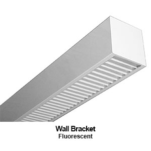 The BMF100 is designed as a wall bracket commercial fluorescent fixture