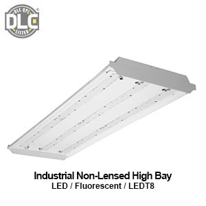 The HBN200 is a DLC qualified commercial LED industrial non-lensed high bay fixture