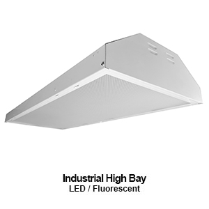 The HBV350 is a commercial LED high bay perfect for auditoriums or gynmanisums