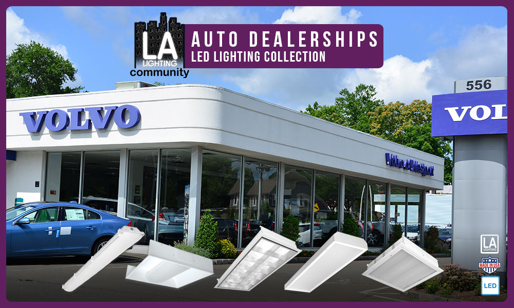 auto dealerships LED lighting collection
