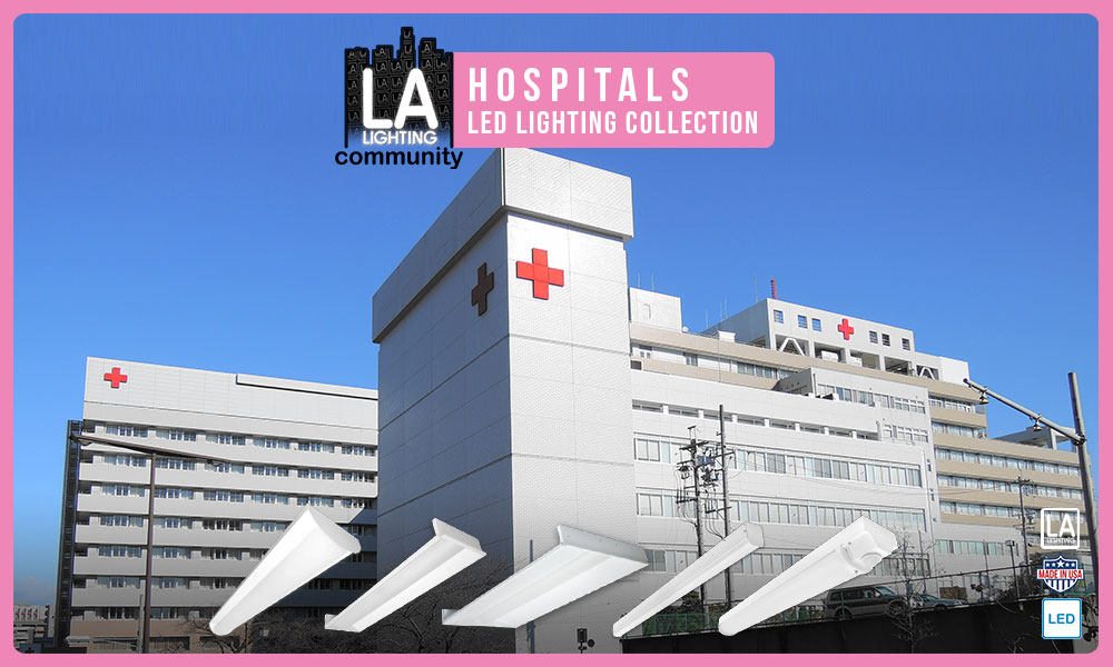 Hospitals LED lighting collection