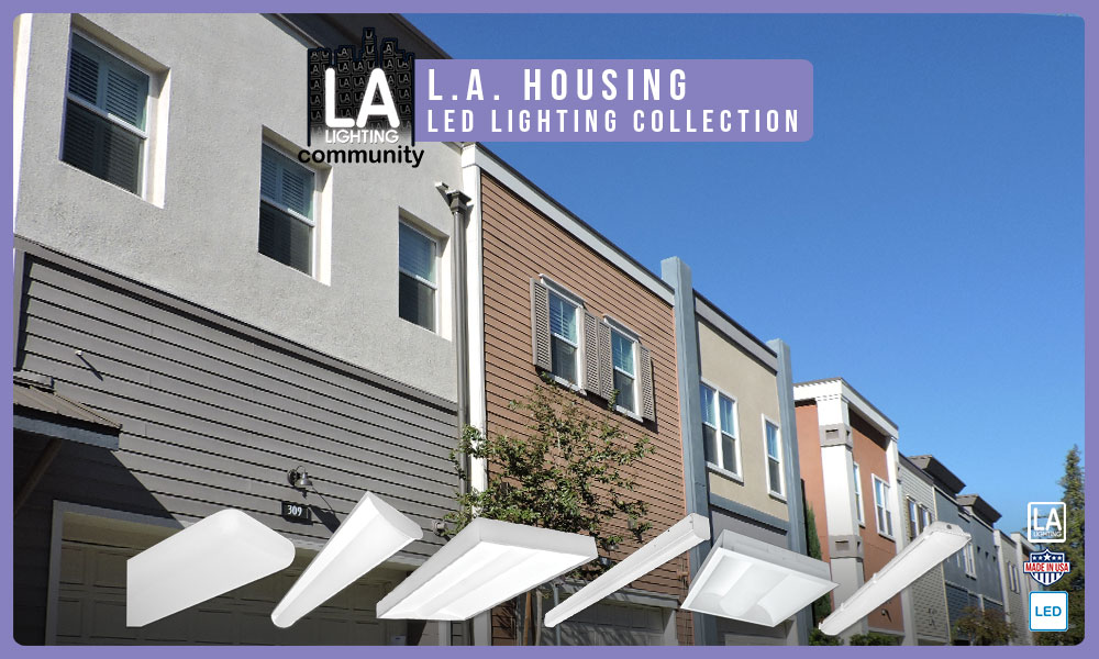 housing LED lighting collection