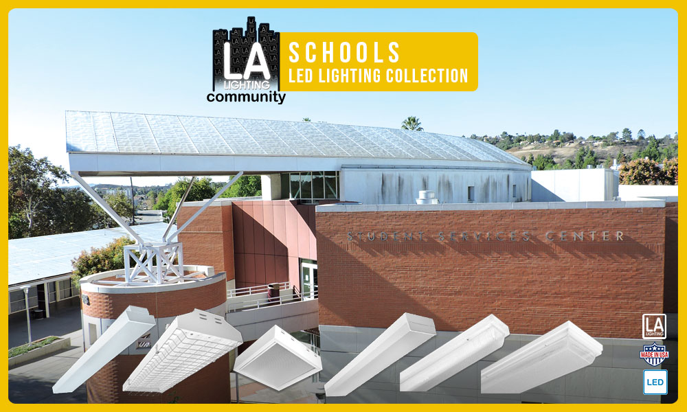 schools LED lighting collection