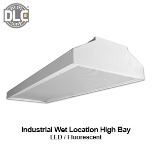 The HBI800 is an industrial wet location commercial LED high bay fixture