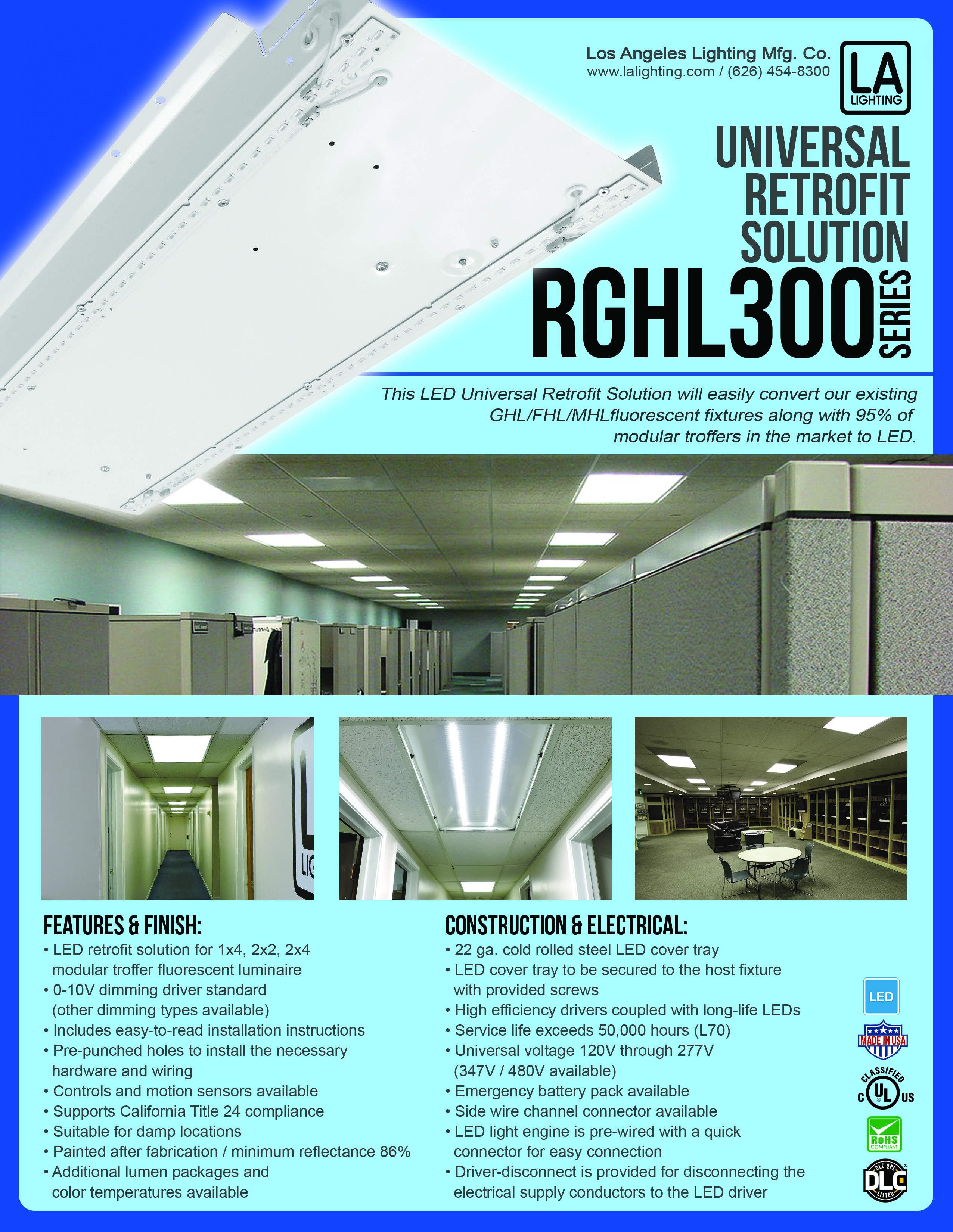 LED Luminaires Product Promos - L.A. Lighting