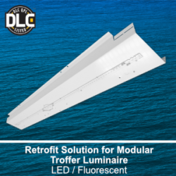 Universal commercial LED retrofit solution for troffers