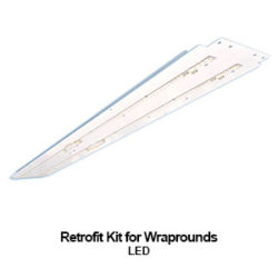commercial LED retrofit solution for the WHO200