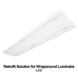 commercial LED Retrofit solution for our WHO300