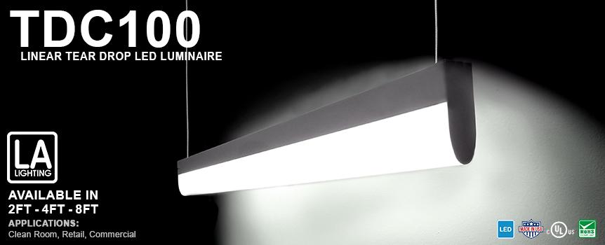 Tear Drop LED Fixture
