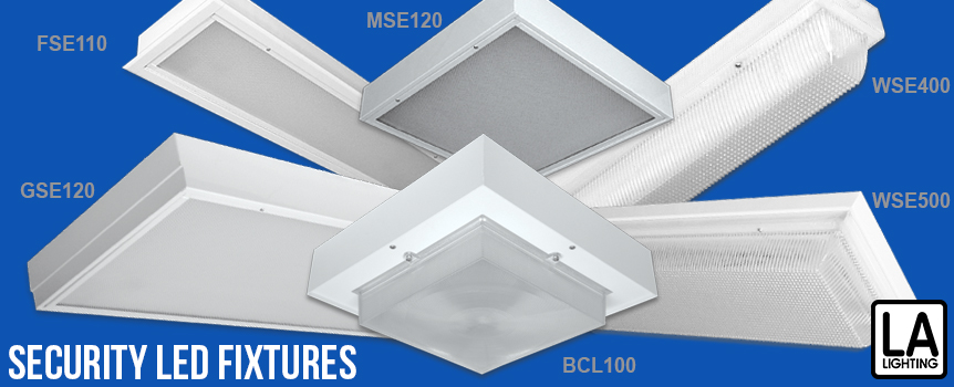 Security LED fixtures