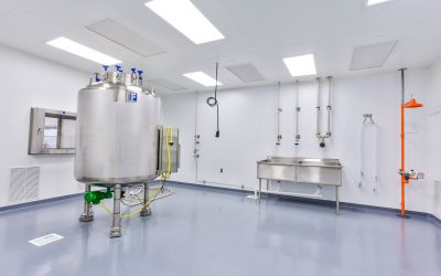 FCR221 - Class 100 Clean Room, Sealed Ceiling Areas, Commercial