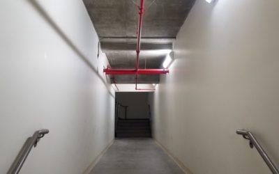 Hallway on