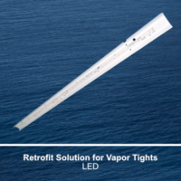 The RCIT100 is a commercial LED retrofit solution for our fluorescent CIT100 fixture