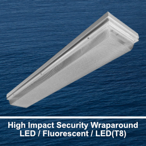 The WSE500 is a high security commercial LED wraparound fixture