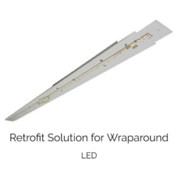 commercial LED retrofit solution for our WHO100